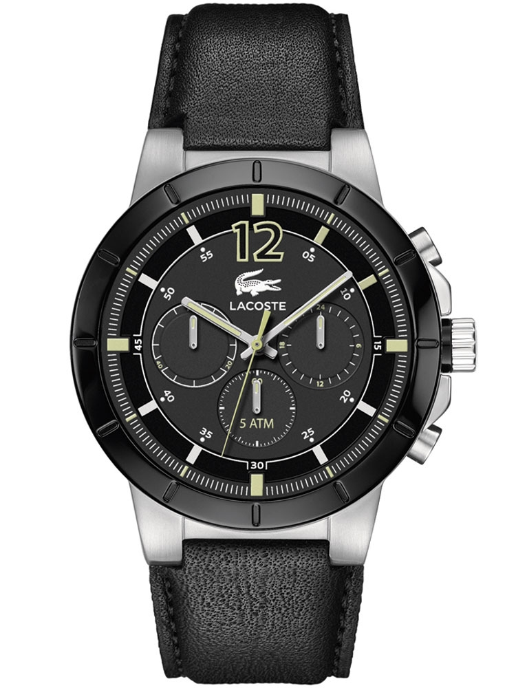 watches chrono12 lacoste herren chronograph darwin 2010743. Black Bedroom Furniture Sets. Home Design Ideas
