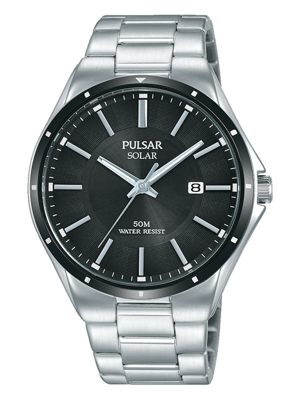 ceas barbatesc pulsar px3145x1 solar 40mm 5atm