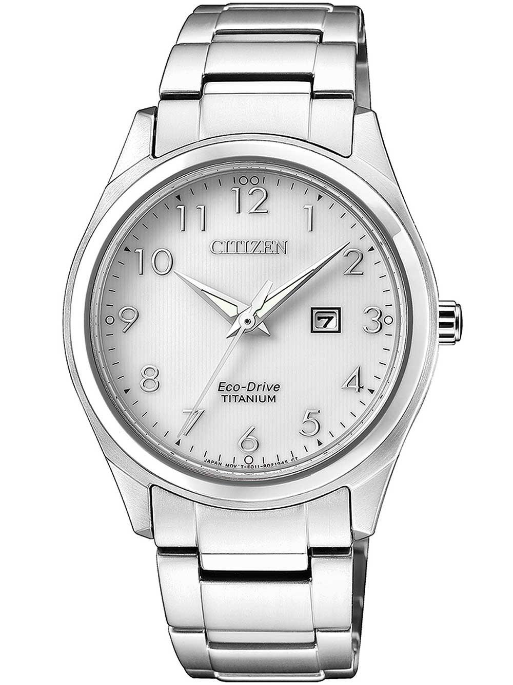 ceas de dama citizen ew2470-87a eco-drive super titanium 34mm 5atm