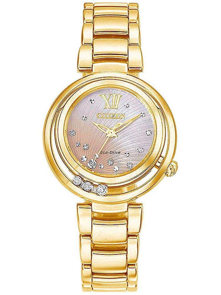 ceas de dama citizen elegance em0325-55p 30 mm 50m