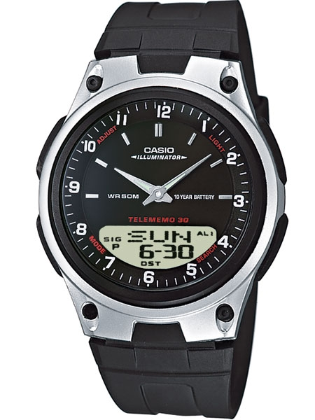 ceas barbatesc casio casio collection aw-80-1aves