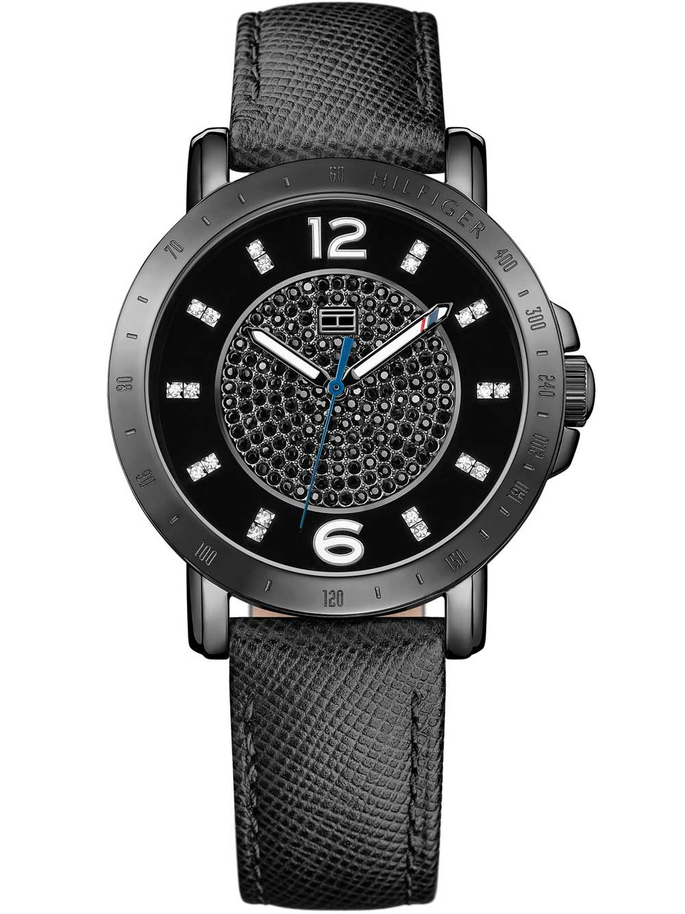 watches chrono12 tommy hilfiger 1781624 damenuhr 34mm 3atm. Black Bedroom Furniture Sets. Home Design Ideas
