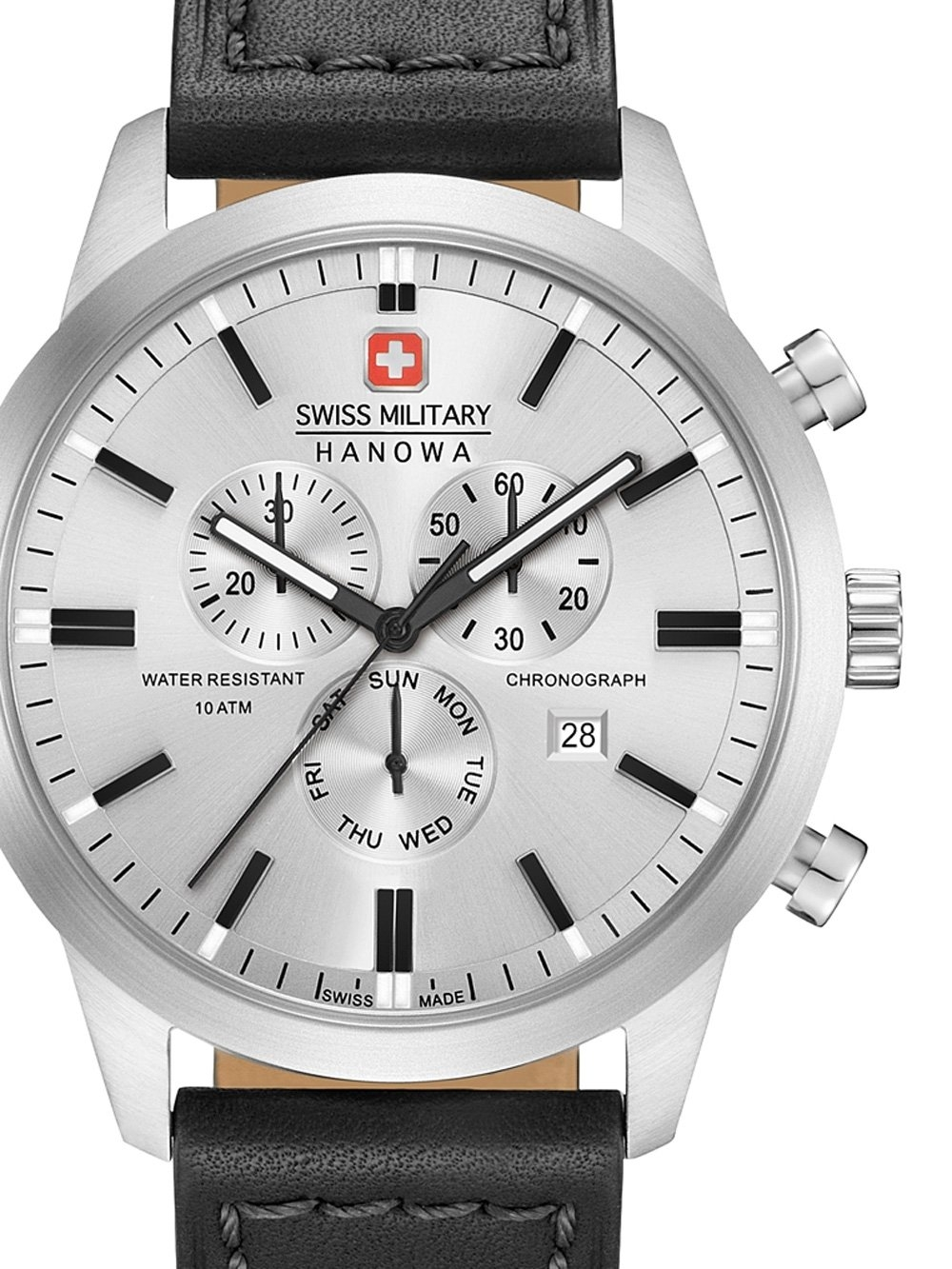 ceas barbatesc swiss military hanowa 06-4308.04.009 classic chrono 44mm 10atm