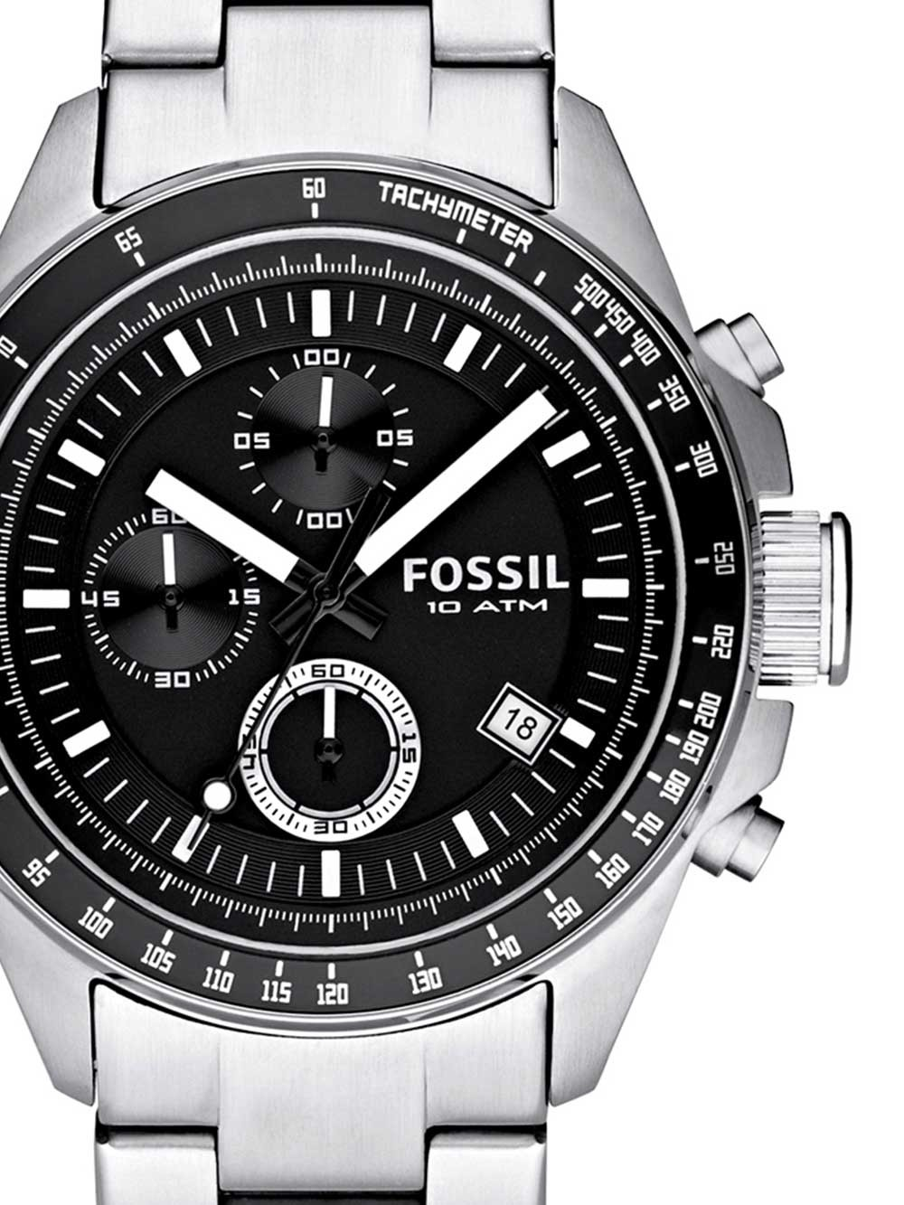 watches chrono12 fossil ch2600ie decker chronograph. Black Bedroom Furniture Sets. Home Design Ideas