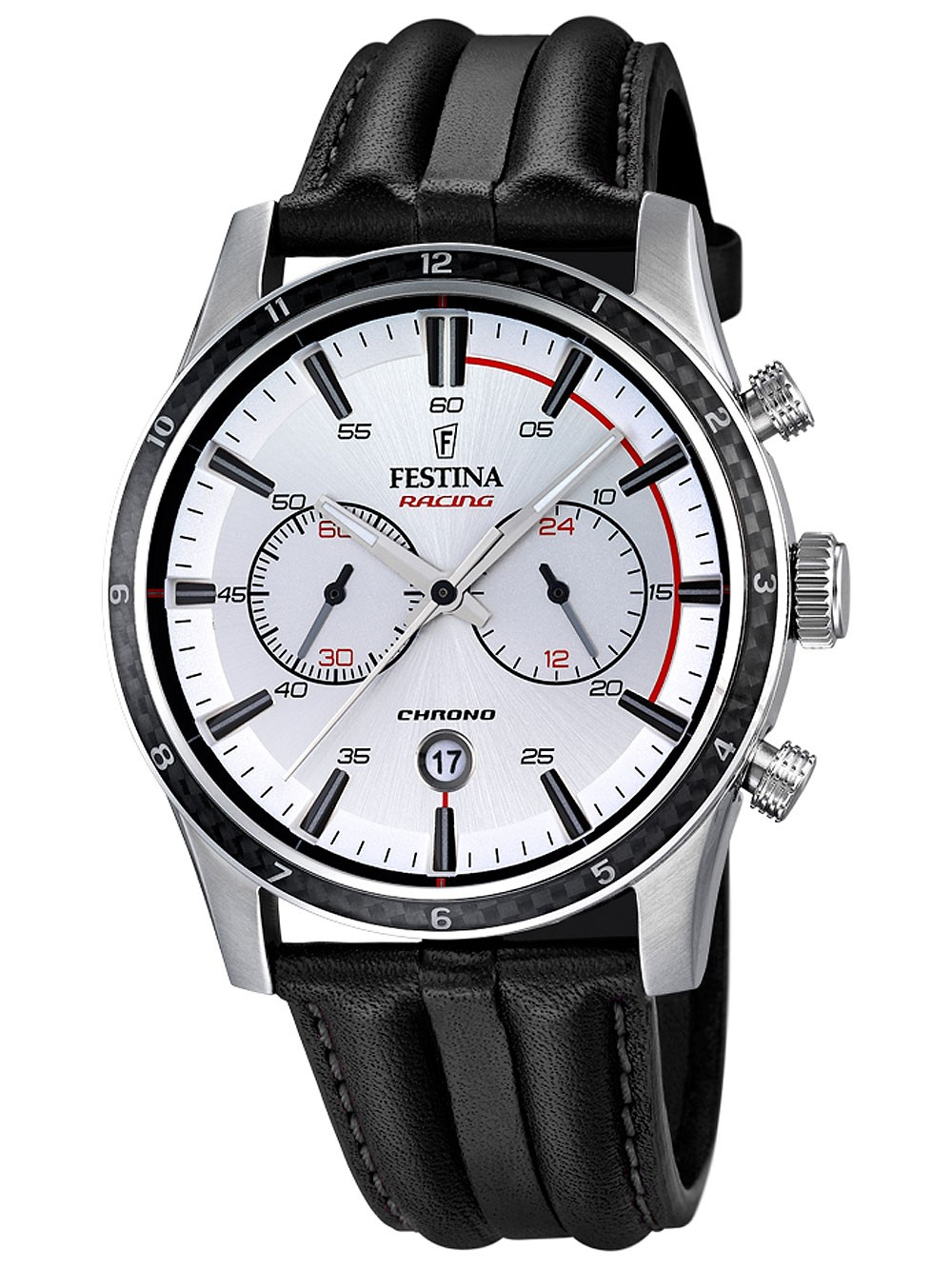 ceas barbatesc festina f16874/1 cronograf 44mm 10atm