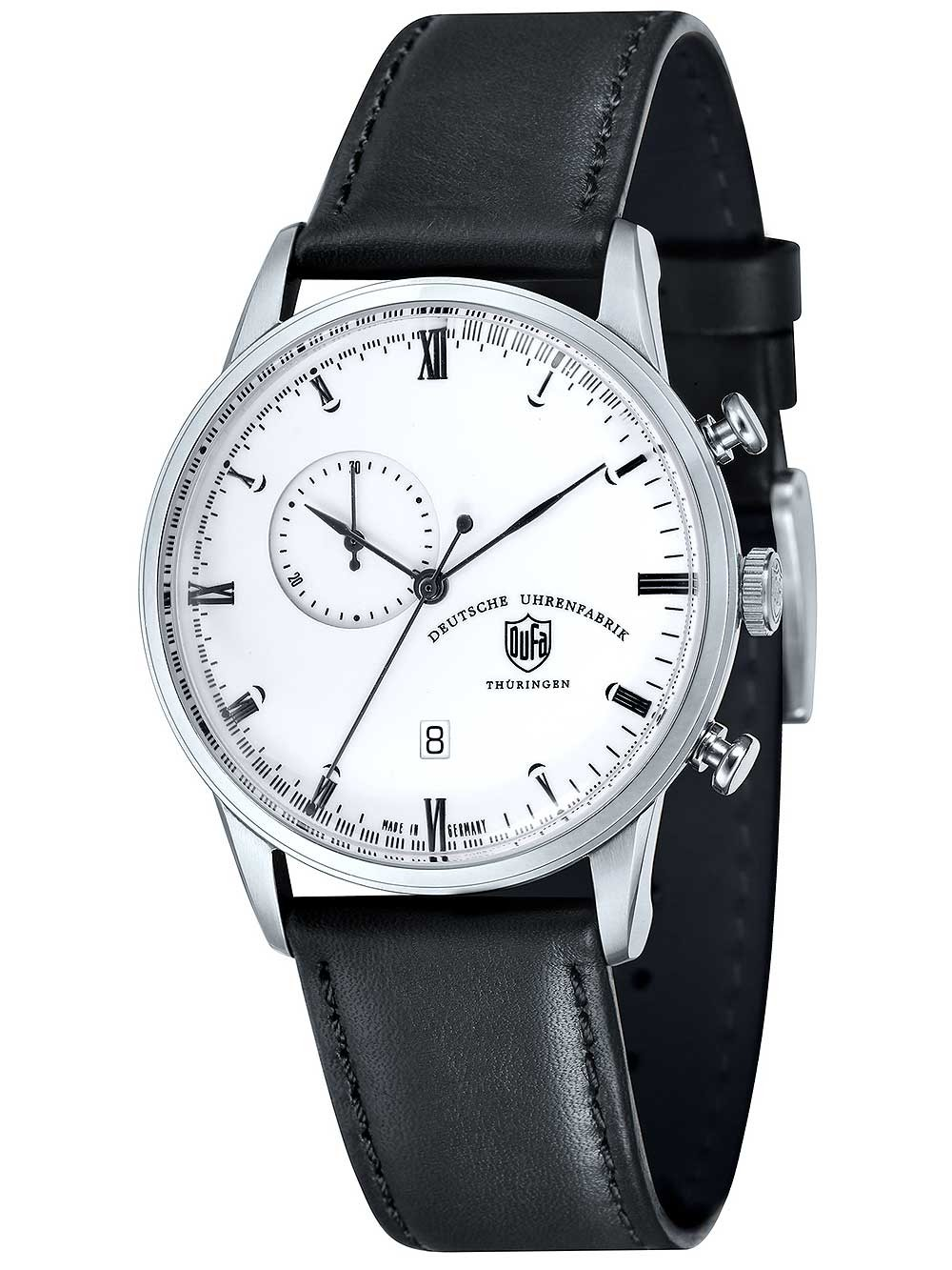 Ceas barbatesc DuFa DF-9007-02 Weimar Chrono 41,5mm 3ATM