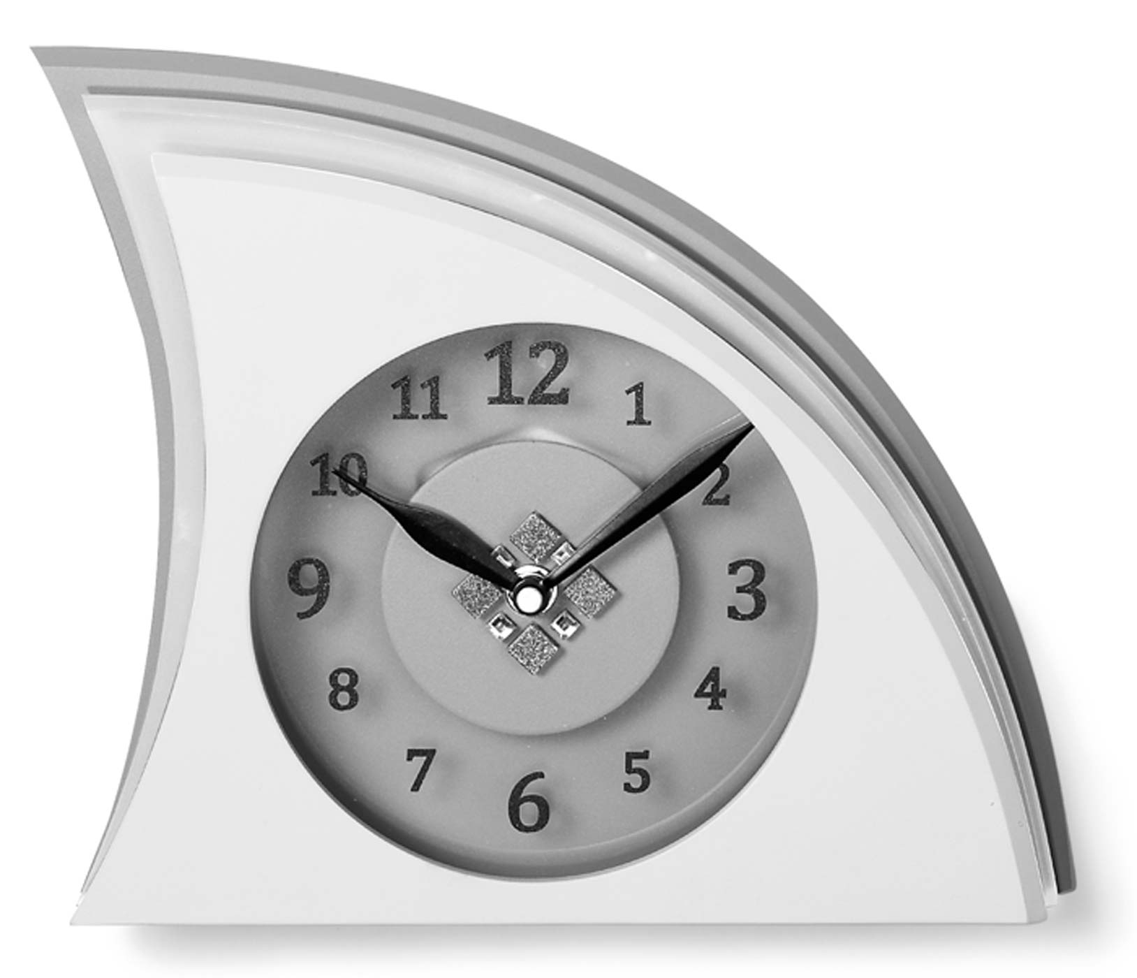 watches chrono12 atlanta 3110 tischuhr modern. Black Bedroom Furniture Sets. Home Design Ideas