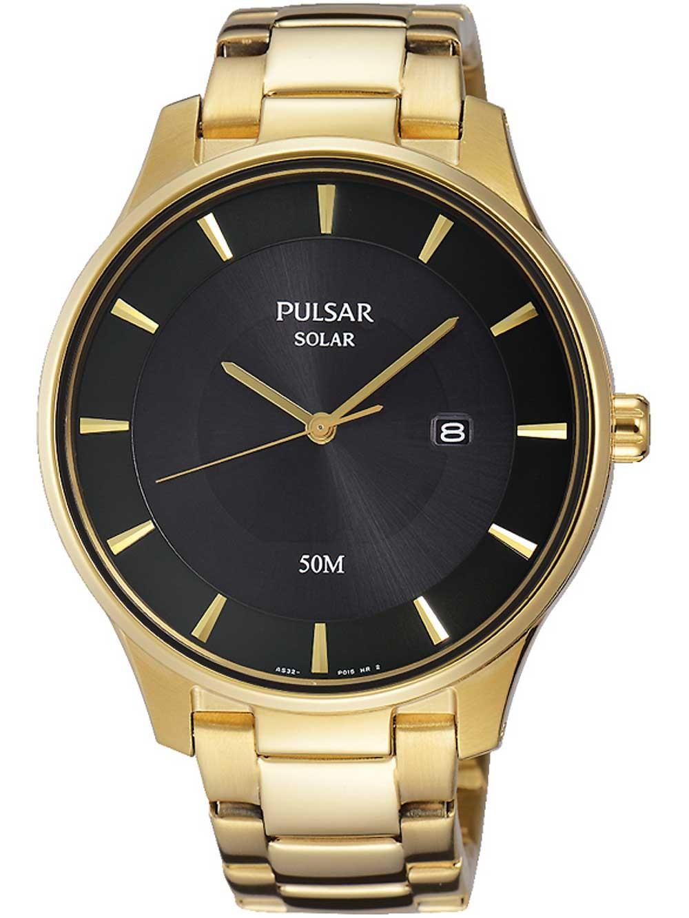 ceas barbatesc pulsar px3102x1 solar 41mm 5atm