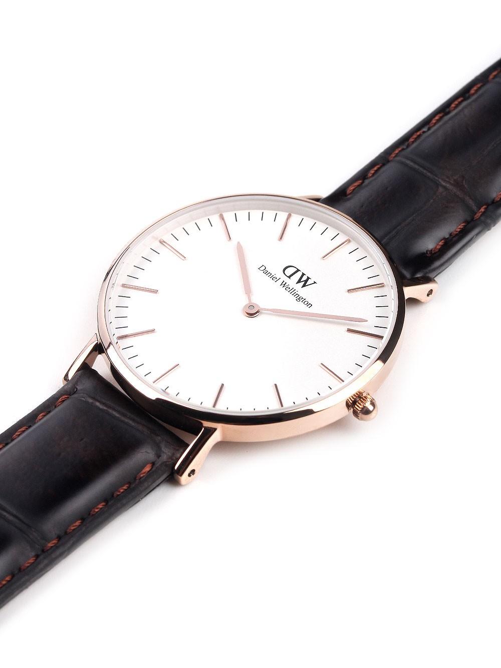 ceas de dama daniel wellington 0510dw classic york 3atm 36mm