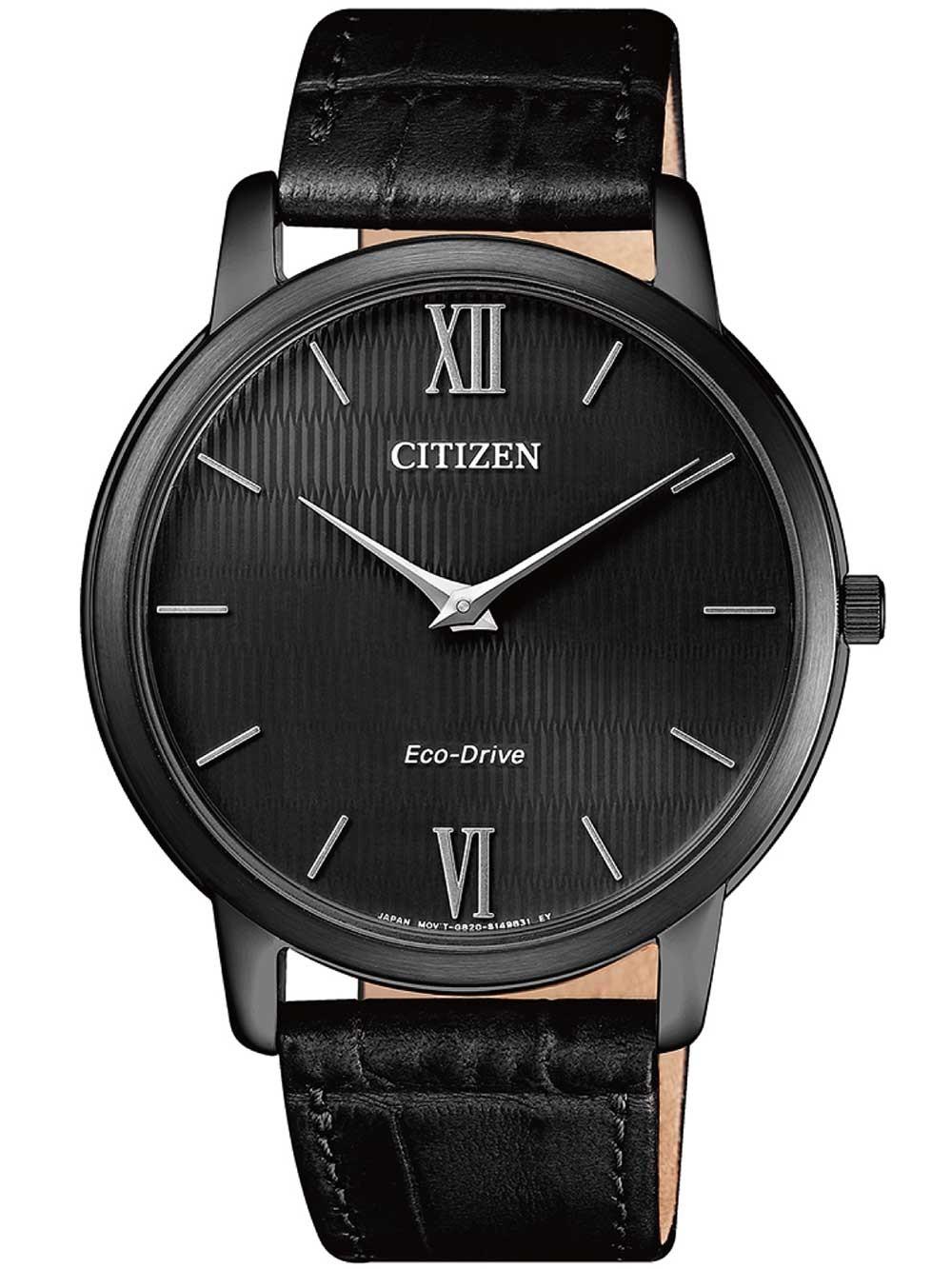 ceas barbatesc citizen ar1135-10e eco-drive stiletto 40mm 3atm