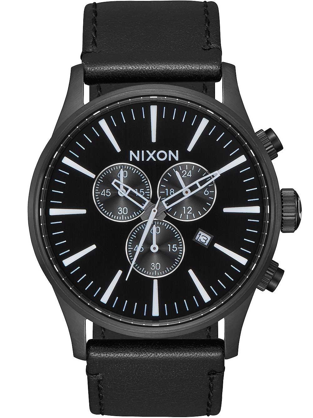 ceas barbatesc nixon a405-756 sentry 42mm 10atm