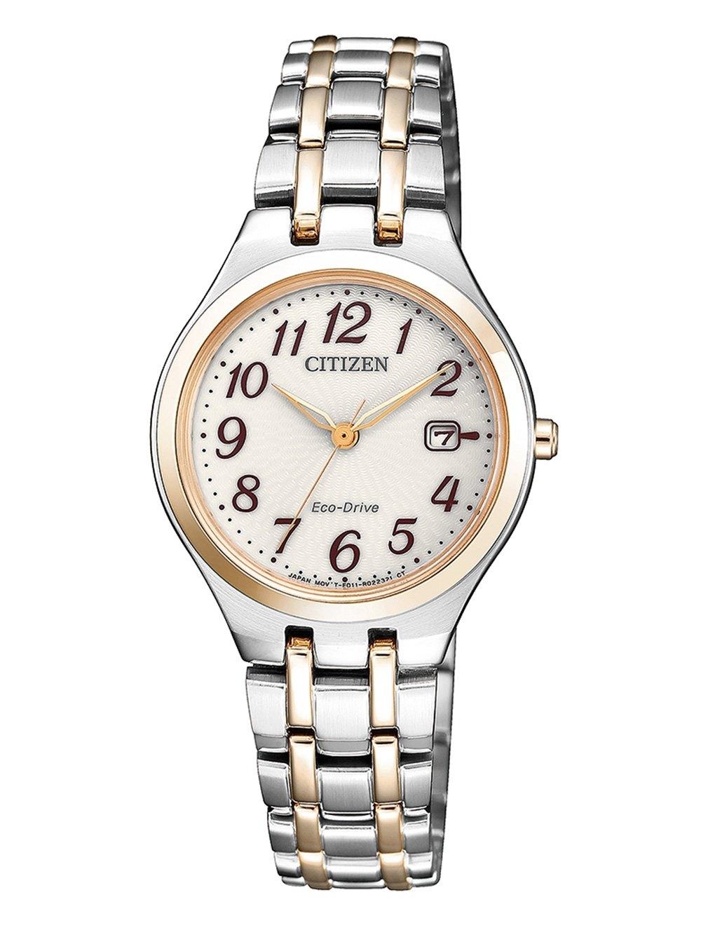 ceas de dama citizen ew2486-87a elegance 28mm 5atm
