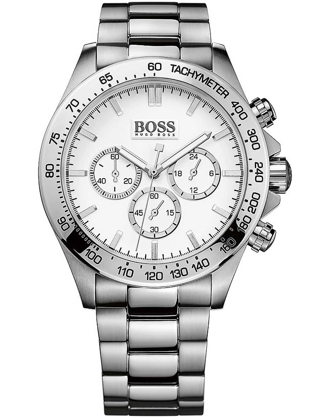 ceas barbatesc hugo boss 1512962 ikon chrono 1512962 44mm 10atm