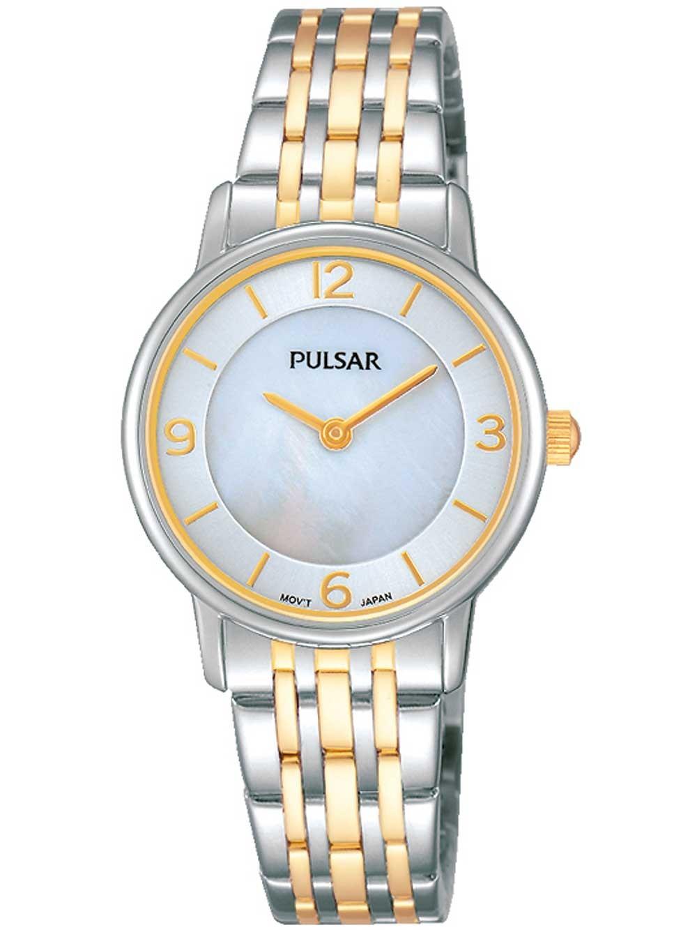 ceas de dama pulsar prw027x1 28mm 3atm