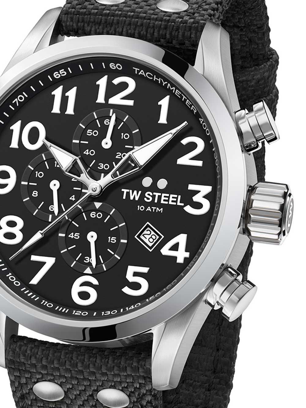 ceas barbati tw-steel vs3 volante chrono 45mm 10atm