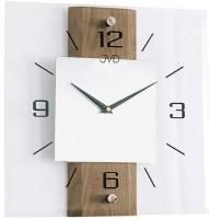 Ceas: Ceas de perete Sticla - Lemn JVD NS2231/78