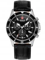 Ceas: Swiss Military Hanowa 06-4331.04.007 Flagship chrono II 42mm 10ATM