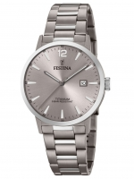 Ceas: Ceas barbatesc Festina F20435/2 Klassik Titan Cronograf 40mm 10ATM