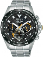 Ceas: Ceas barbatesc Pulsar PZ5103X1 Solar Cronograf 45mm 10ATM