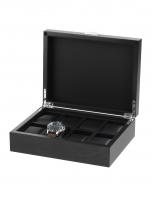 Ceas: Rothenschild Uhrenbox RS-2376-8BL für 8 Uhren schwarz
