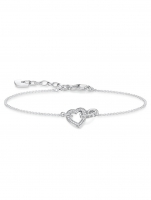Ceas: Thomas Sabo Armband Together Herz Klein A1648-051-14 14-19cm