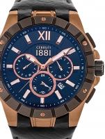 Ceas: Ceas barbatesc Cerruti CRA23701 Sanzeno Cronograf 47mm 10ATM