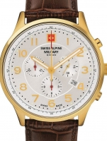 Ceas: Ceas barbatesc Swiss Alpine Military 7084.9512 Cronograf 43mm 10ATM