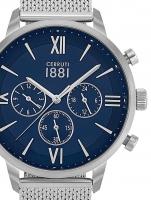 Ceas: Ceas barbatesc Cerruti CRA23405 Denno Cronograf 43mm 10ATM