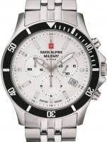 Ceas: Ceas barbatesc Swiss Alpine Military 7022.9132 Cronograf 42mm 10ATM