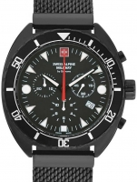 Ceas: Ceas barbatesc Swiss Alpine Military 7066.9177 Turtle Cronograf 44mm 10ATM