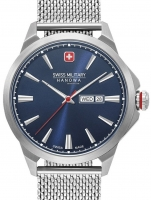 Ceas: Ceas barbatesc Swiss Military Hanowa 06-3346.04.003 Day Date Classic 45mm 10ATM