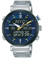 Ceas: Ceas barbatesc Pulsar PZ4049X1 Ana-Digi Chrono 44mm 10ATM