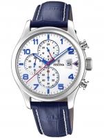 Ceas: Ceas barbatesc Festina F20375/4 Timeless Cronograf 43mm 10ATM