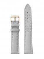 Ceas: Cluse Ersatzband CLS320 [16 mm] grau m. silber Schließe