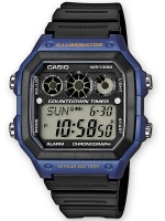 Ceas: Casio AE-1300WH-2AVEF Herren Collection Chronograph 10 ATM 42 mm