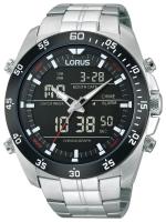 Ceas: Ceas barbatesc Lorus RW611AX9 Analog-Digital Alarm Cronograf 100M 46mm