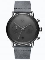 Ceas: Ceas barbatesc MVMT BT01-SGR Blacktop Cronograf 46mm 10ATM