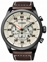Ceas: Ceas barbatesc Citizen Eco-Drive CA4215-04W Chrono 45mm 100M