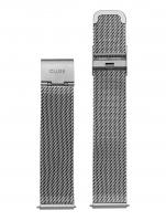 Ceas: Cluse Ersatzband CLS045 [18 mm] silber m. silber Schließe