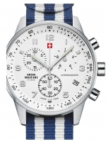 Ceas: Ceas barbatesc Swiss Military SM34012.15 Chrono 41mm 5ATM