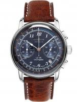 Ceas: Ceas barbatesc Zeppelin 7614-3 Cronograf LZ126 Los Angeles 43mm 5ATM