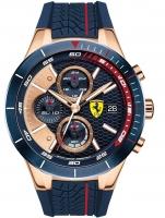 Ceas: Ceas barbatesc Scuderia Ferrari 0830297 Red Red Evo Cronograf 46mm 5ATM