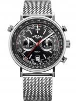 Ceas: Ceas barbatesc Rotary GS05235/04 Henley Cronograf 42mm 5ATM
