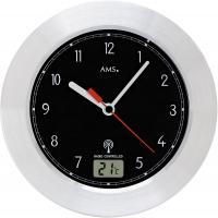 Ceas: AMS 5919 moderne Funkwanduhr für das Badezimmer- Serie: AMS Design