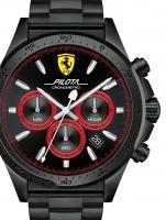 Ceas: Ceas barbatesc Scuderia Ferrari 0830390 Pilota Chrono 45mm 5ATM