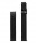 Ceas: Cluse Ersatzband CLS348 [16 mm] schwarz m. schwarz Schließe