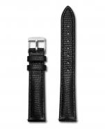 Ceas: Cluse Ersatzband CLS372 [16 mm] schwarz m. silber Schließe