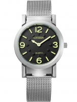 Ceas: Citizen AC2200-55E Quarz Blindenuhr 35mm mit 3D touch Zifferblatt