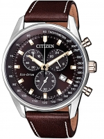 Ceas: Ceas barbatesc Citizen AT2396-19X Eco-Drive Chrono. 40mm 10ATM