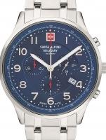 Ceas: Ceas barbatesc Swiss Alpine Military 7084.9135 Cronograf 43mm 10ATM